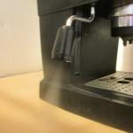 Wasserdampf Espressomaschine