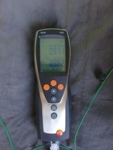 U-Wert Messung mit Testo 635
