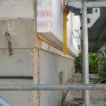 Wand, Grenze, Dämmung, zulässig