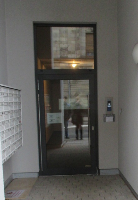 SCHNEEWEISS ARCHITEKTEN schwellenloser Eingang