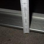 Häufiges Ärgernis - Schwellen bei Hauseinangstüren