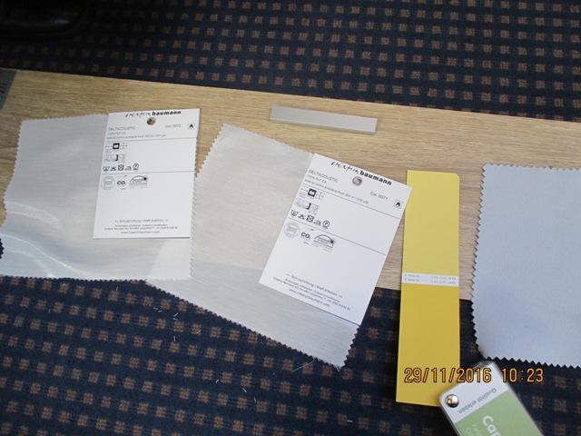 Stoffe - Farbkarte - Bodenbelag Muster