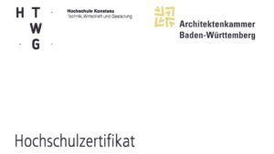 Hochschulzertifikat HTWG Konstanz